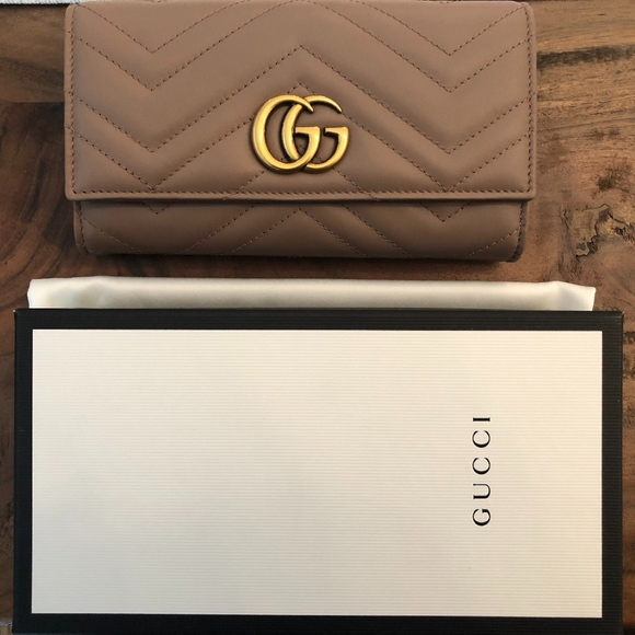 c94c771a5abced Gucci Bags | Gg Marmont Leather Continental Wallet | Poshmark